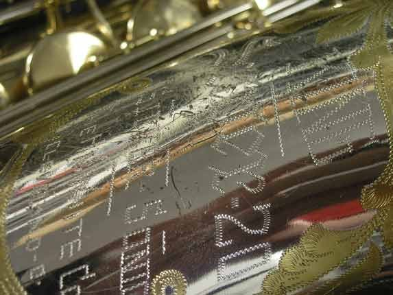 King Silver-Sonic Gold Inlay Super 20 Tenor - 372421 - Photo # 16