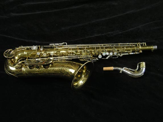 King Lacquer-Sterling Neck Super 20 Tenor - 433254 - Photo # 1