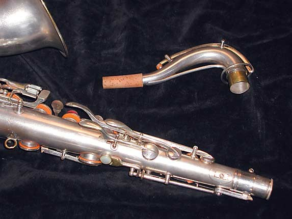 Conn Silver Plate Art Deco Chu Berry Tenor - 236368 - Photo # 7