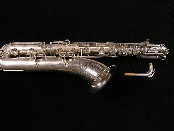 Conn Silver Plate 12M Baritone - 311124 - Photo # 1