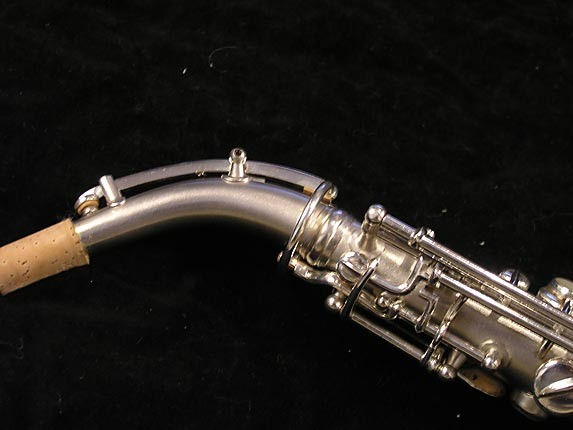 "Conn ""New Wonder"" Silver Plate Curved Soprano - 70327 - Photo # 7"