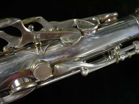 Selmer Silver Super Balanced Action Alto - 45550 - Photo # 9