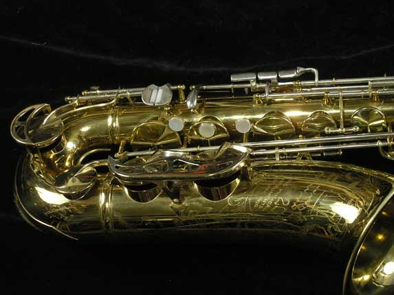 King Lacquer-Sterling Neck Super 20 Tenor - 433254 - Photo # 2