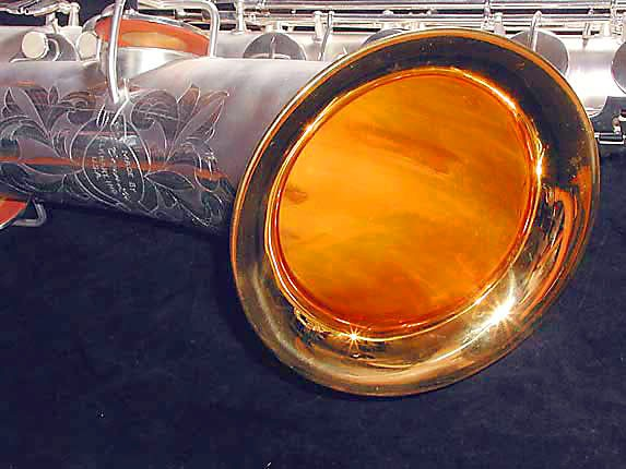 Conn Silver Plate Chu Berry Baritone - 189716 - Photo # 12