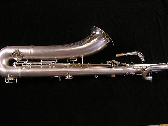 Conn Silver Plate 12M Baritone - 311124 - Photo # 2