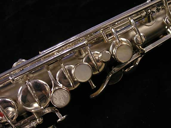 "Conn ""New Wonder"" Silver Plate Curved Soprano - 70327 - Photo # 8"