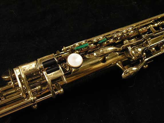 Buescher Lacquer Tipped Bell True Tone Soprano - 204551 - Photo # 9