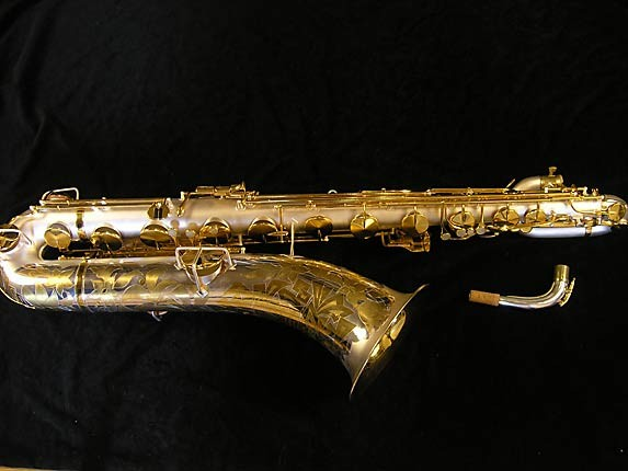 King Custom Silver & Gold Plate Zephyr Baritone - 179421 - Photo # 1