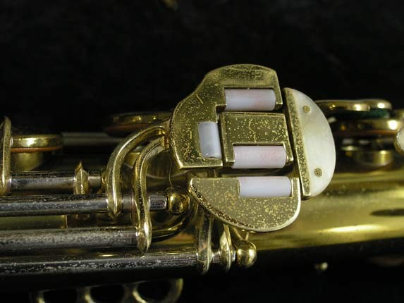 King Lacquer-Sterling Neck Super 20 Alto - 283230 - Photo # 10