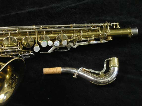 King Lacquer-Sterling Neck Super 20 Tenor - 433254 - Photo # 3