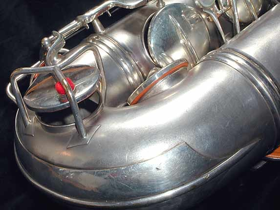 Conn Silver Plate Art Deco Chu Berry Tenor - 236368 - Photo # 9