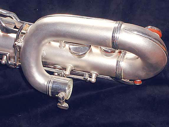 Conn Silver Plate Chu Berry Baritone - 189716 - Photo # 13