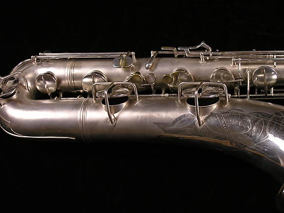 Conn Silver Plate 12M Baritone - 311124 - Photo # 3