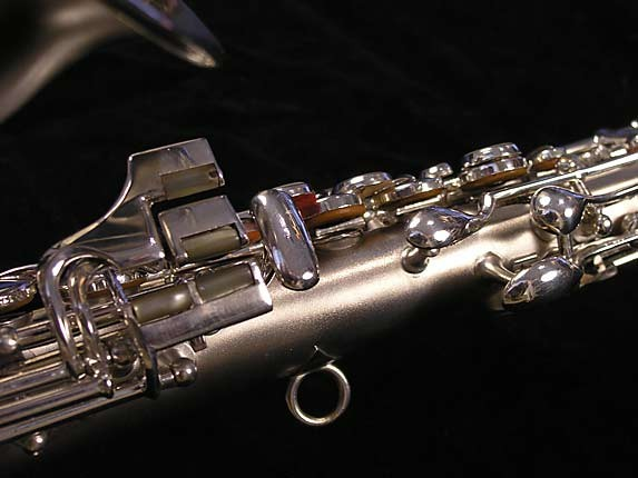 "Conn ""New Wonder"" Silver Plate Curved Soprano - 70327 - Photo # 9"