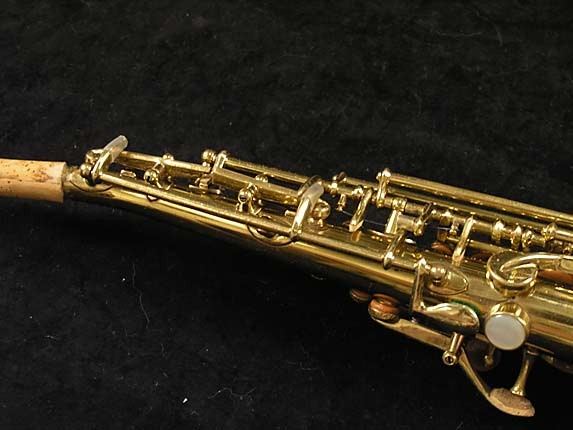 Buescher Lacquer Tipped Bell True Tone Soprano - 204551 - Photo # 10