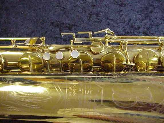 "Buescher Lacquer Aristocrat ""Big B"" Baritone - 318265 - Photo # 4"