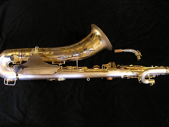 King Custom Silver & Gold Plate Zephyr Baritone - 179421 - Photo # 2