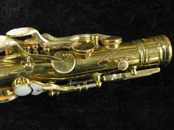 King Lacquer-Sterling Neck Super 20 Alto - 283230 - Photo # 11