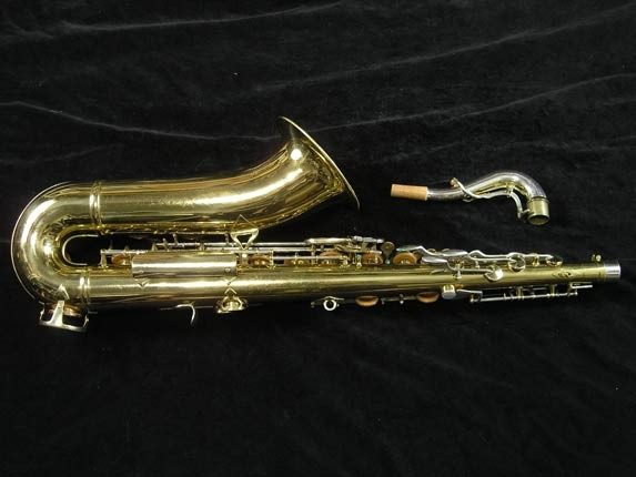 King Lacquer-Sterling Neck Super 20 Tenor - 433254 - Photo # 4