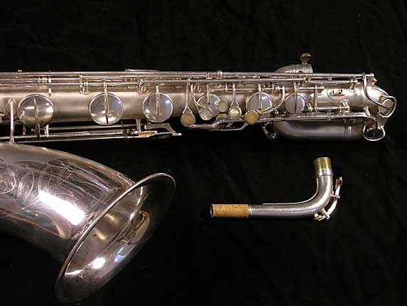 Conn Silver Plate 12M Baritone - 311124 - Photo # 4