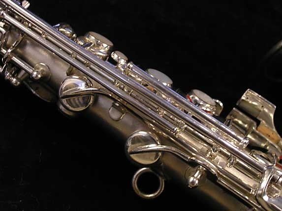 "Conn ""New Wonder"" Silver Plate Curved Soprano - 70327 - Photo # 10"