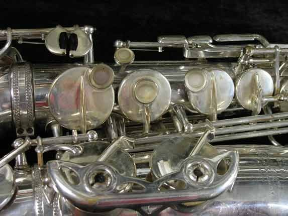Selmer Silver Super Balanced Action Alto - 45550 - Photo # 12