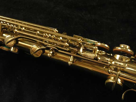 Buescher Lacquer Tipped Bell True Tone Soprano - 204551 - Photo # 11