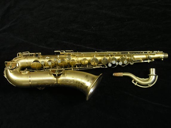 Buescher Gold Plate True Tone Tenor - 211585 - Photo # 13