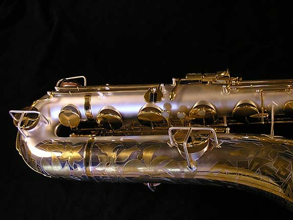King Custom Silver & Gold Plate Zephyr Baritone - 179421 - Photo # 3