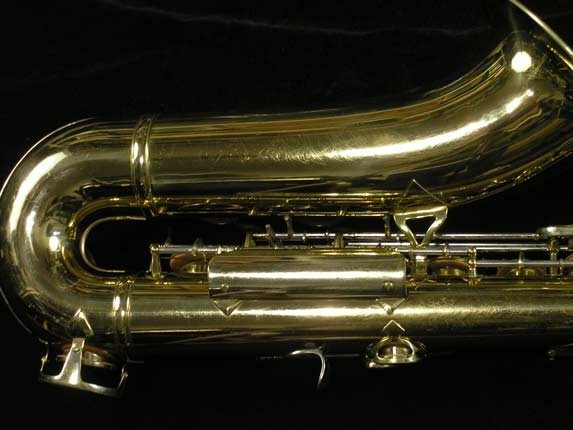 King Lacquer-Sterling Neck Super 20 Tenor - 433254 - Photo # 5