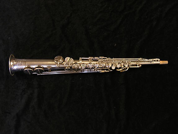 Conn Silver Chu Berry Soprano - 160331 - Photo # 1