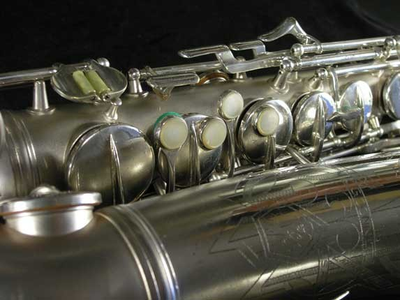 Conn Silver Plate Transitional 6M Alto - 257986 - Photo # 12