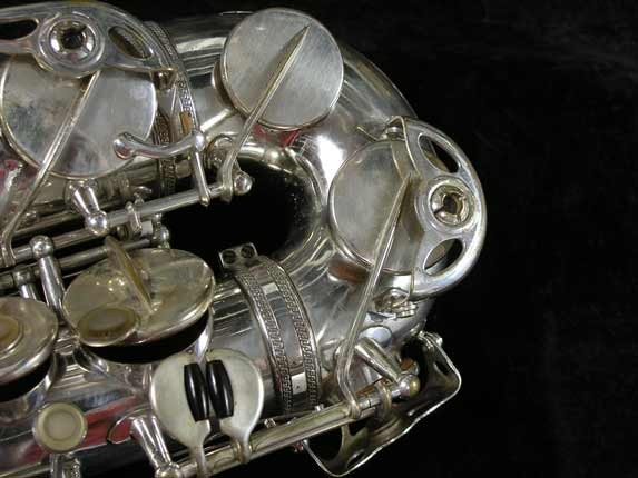 Selmer Silver Super Balanced Action Alto - 45550 - Photo # 13