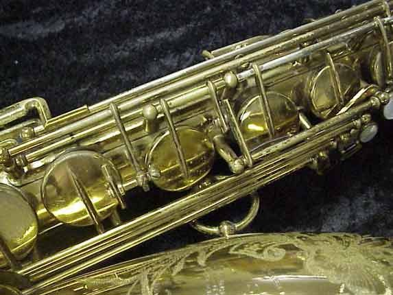 Selmer Lacquer Super Balanced Action Tenor - 39981 - Photo # 10