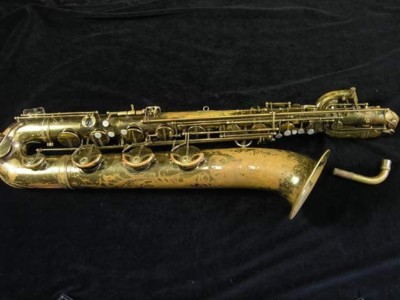 "Selmer Lacquer Mark VI ""Low A"" Baritone - 81129 - Photo # 1"
