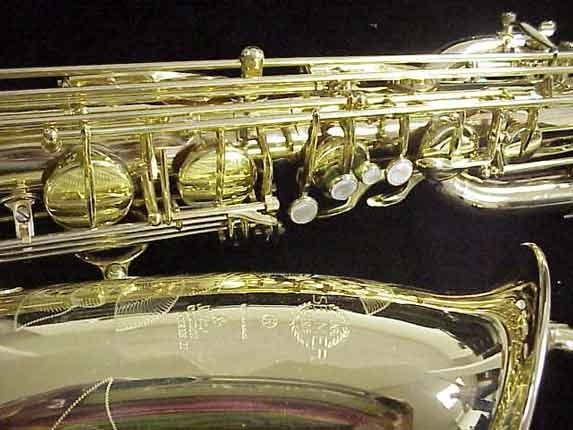 Selmer Lacquer Super Action 80 serie II Baritone - 558147 - Photo # 3