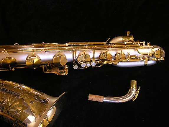 King Custom Silver & Gold Plate Zephyr Baritone - 179421 - Photo # 4