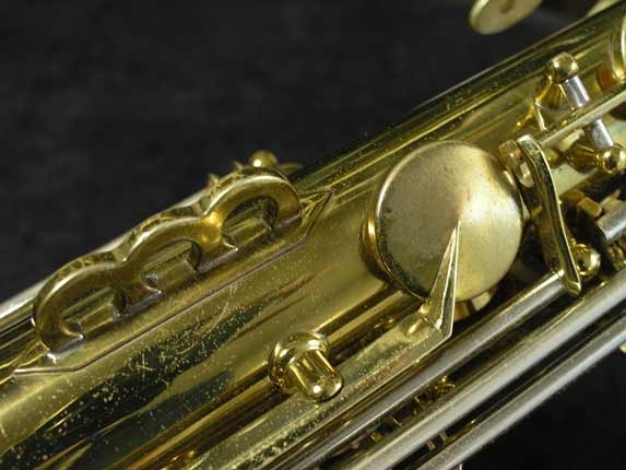 King Lacquer-Sterling Neck Super 20 Alto - 283230 - Photo # 13