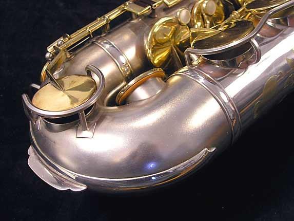 KING Voll-True II - Silver w/ Gold Keys Photos   Saxophone.org