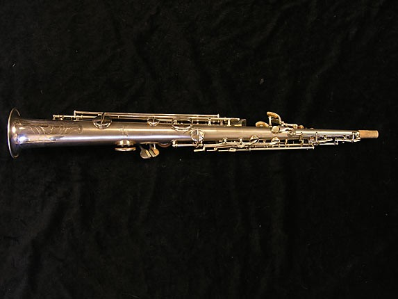 Conn Silver Chu Berry Soprano - 160331 - Photo # 2