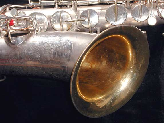 Conn Silver Plate Art Deco Chu Berry Tenor - 236368 - Photo # 12