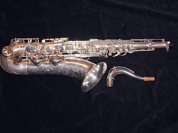 Selmer Matte Silver Super Balanced Action Tenor - 38812 - Photo # 1