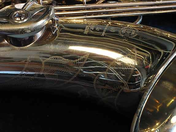 Selmer Lacquer Super Action 80 Tenor - 351678 - Photo # 2
