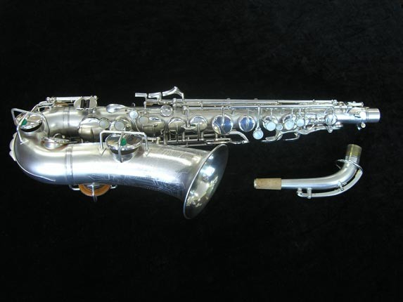 Buescher Silver Plate New Aristocrat Alto - 263859 - Photo # 1