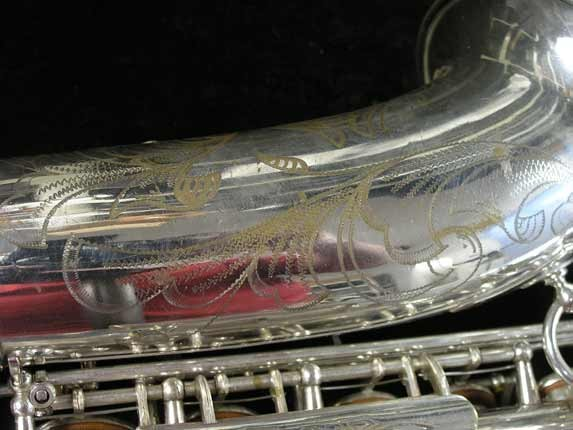 Selmer Silver Super Balanced Action Alto - 45550 - Photo # 15