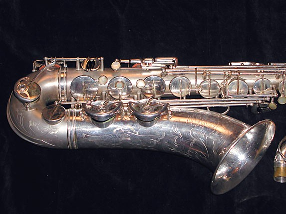 Selmer Matte Silver Super Balanced Action Tenor - 38812 - Photo # 2