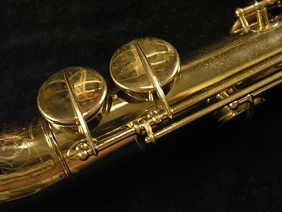 Buescher Lacquer Tipped Bell True Tone Soprano - 204551 - Photo # 14