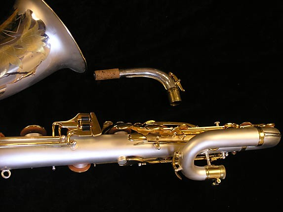 King Custom Silver & Gold Plate Zephyr Baritone - 179421 - Photo # 6