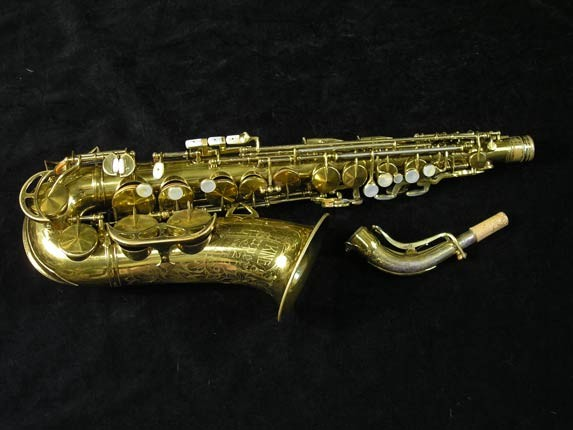 King Lacquer-Sterling Neck Super 20 Alto - 303393 - Photo # 1