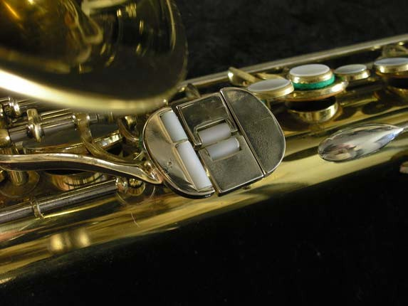 King Lacquer-Sterling Neck Super 20 Tenor - 433254 - Photo # 8